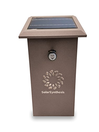 Solar Powered Cell Phone Charging Station - 5