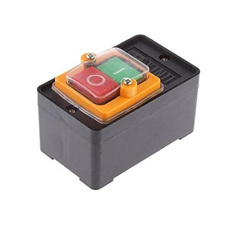Wasserdicht Druckknopf Kippschalte ON//OFF Schalter für KAO-5//BSP210F-1B 10A 380V