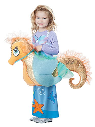 California Costumes Seaquestrian Mermaid Costume, Multi, Toddler (3-6) (Seahorse Costume Amazon)