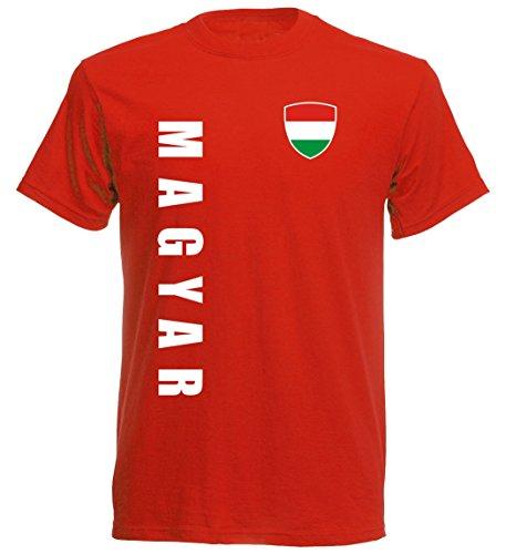 Ungarn EM 2016 T-Shirt Trikot - S M L XL XXL - rot 10