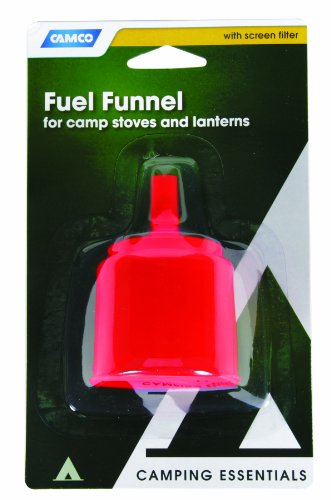 Camco 51050 Fuel Funnel with Screen
