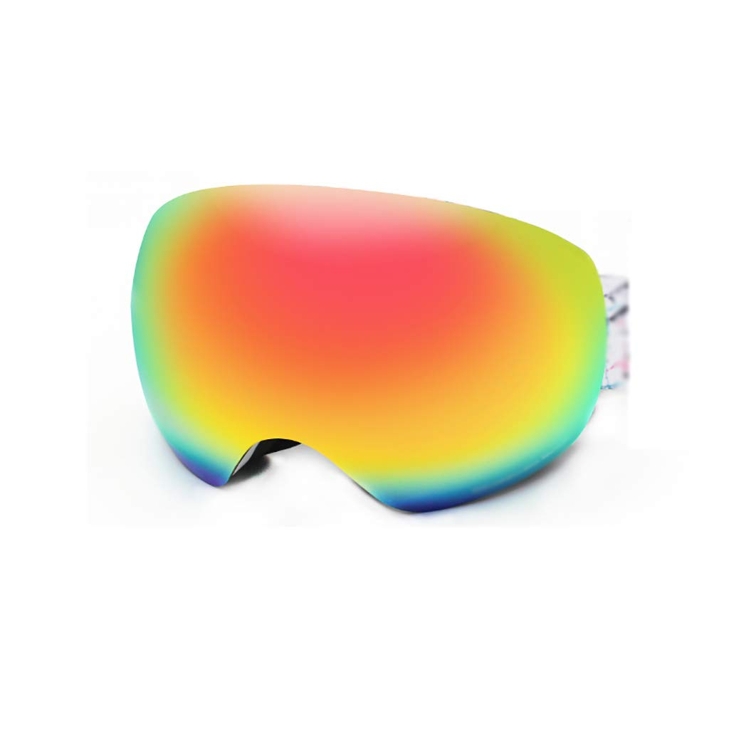 C HXHMJ Double ski goggles antifog goggles men and women professional motorcycle snow mirror antiUV card myopia