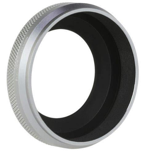 Amazon.com: FidgetFidget Silver Metal Lens Hood Shade +49mm Ring f Fujifilm FinePix X100F X100S X100T X70: Electronics