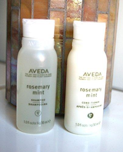 Aveda Rosemary Mint Shampoo & Conditioner 1 Oz Each, Travel Sizes