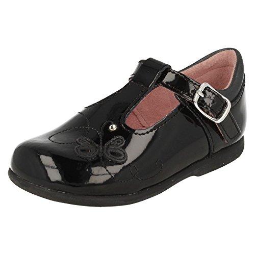 Start-rite , Chaussures de ville à lacets pour fille Noir noir - Noir - Noir verni, S6½