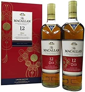 Macallan - Double Cask Chinese Lunar Year Of The Rat 2020 (USA Edition) Twin Pack - 12 year old Whisky