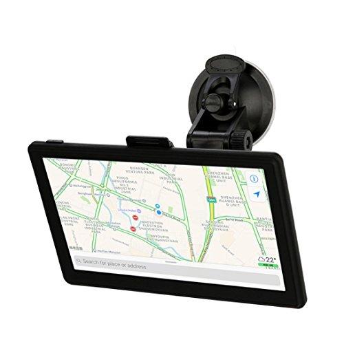 Price comparison product image Dreamyth Car GPS, 7inch Car Navigation GPS 8GB Bluetooth Navigator SAT NAV EU Map Speedcam