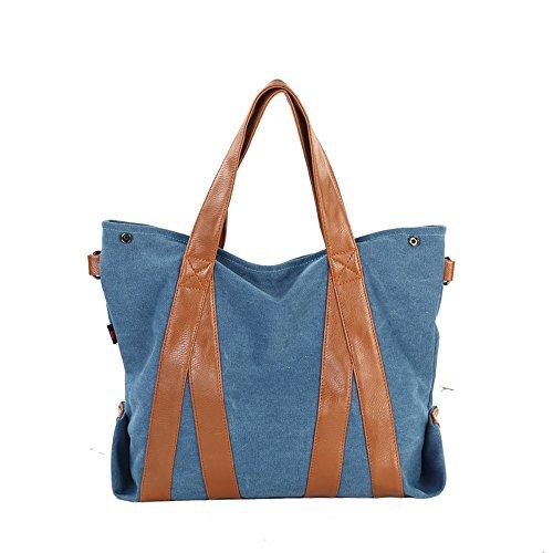 Braun Jothin 16 Azul Para Lino Bolso Schwarz blau Cruzados 35 Mujer 35cm Khaki De HPrzHOq