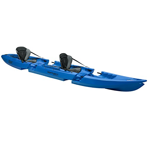 Point 65 Tequila! GTX Tandem Modular Sit On Top Kayak Blue