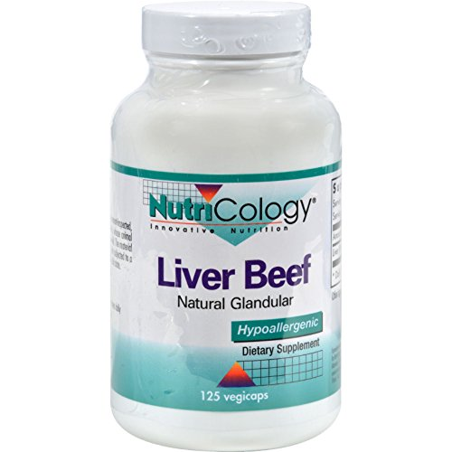 (NutriCology Liver Organic Glandular - 125 Vegetarian Capsules -)