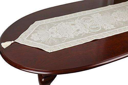 Tessitura Pardi Cerere Misto Linen Natural Italian Table Runner 13