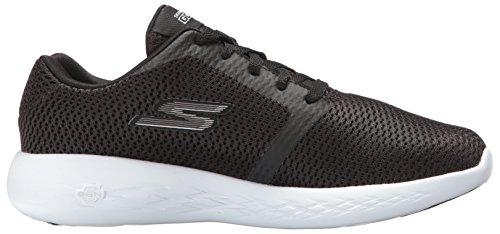 Skechers Vrouwen Gaan Lopen 600-raffinaderij Sneaker Zwart / Wit