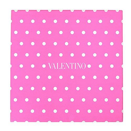 Valentino 100% Silk Multi-Color Polka Dot Women's Shawl - Colored Dot Scarf Multi Polka