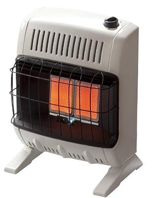 Mr. Heater 10,000 BTU Natural Gas Radiant Vent Free Heater #MHVFR10NG