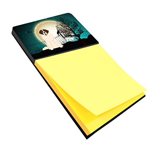 Caroline's Treasures Halloween Scary Moscow Watchdog Sticky Note Holder, Multicolor (BB2217SN)