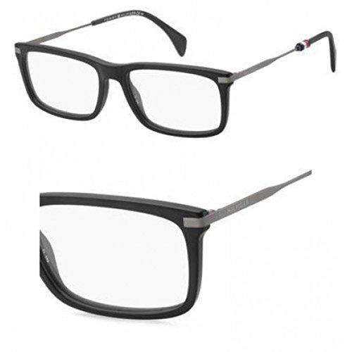 Eyeglasses Tommy Hilfiger Th 1538 0003 Matte Black - 0003 Black Matte Eyeglasses