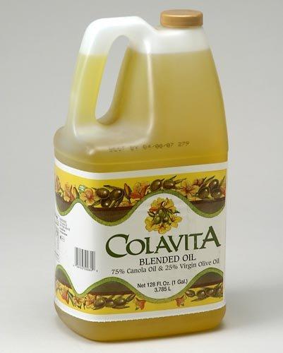 Colavita, Canola 75/25 Virgin Olive Oil, 1 Gallon (6 Count)