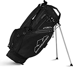 Sun Mountain 2019 C-130S Stand BagAdapted from Sun MountainaTMs best-selling C-130 cart bag, the C-130S stand golf bagA is designed primarily for cart use, with a stand system added for the practiceA range. Cart-friendly features include a le...