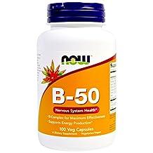 NOW Foods Vitamin B-50 Caps, 100 ct