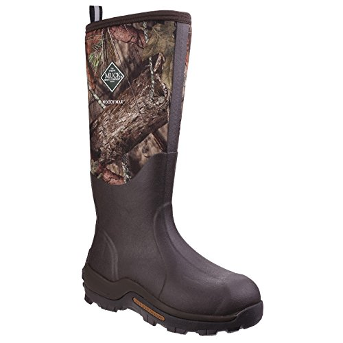 Stivale Muck Unisex Woody Max Cold-conditions Boot Boot Muschiato Rovere Di Rovere Country