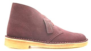 CLARKS Men Desert Boot (Burgundy/Wine Suede) (B0147TGTSQ) | Amazon price tracker / tracking, Amazon price history charts, Amazon price watches, Amazon price drop alerts