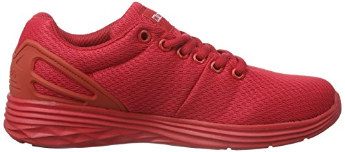 Kappa Trust, Unisex Adults' Low-Top Sneakers Red (Red 2020)