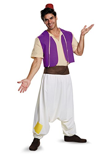 Aladdin Mens Street Rat Adult Costume X-Large Purple