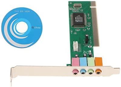 B Blesiya Mini Base Principal PCI 8738 Tarjeta de Sonido ...