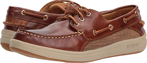 Sperry Top-Sider Gold Cup Gamefish 3-Eye Boat Shoe, Brown, Size 10.0