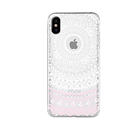 Cover Iphone X Ucmda Silicone Cover Iphone X Trasparente Con