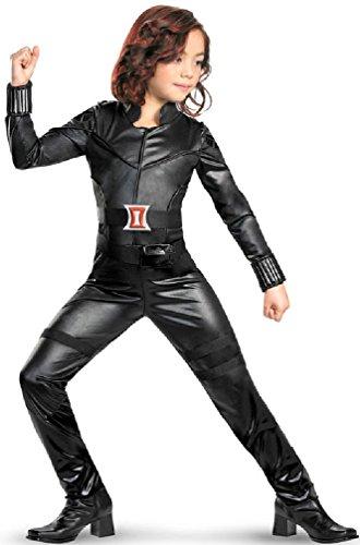 8eighteen Marvel Black Widow Deluxe Child Costume (Black Widow Witch Costume)