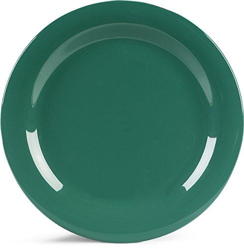 - Green Durus Narrow Rim Dinner Plate 10 1/2 inch - 12 per case