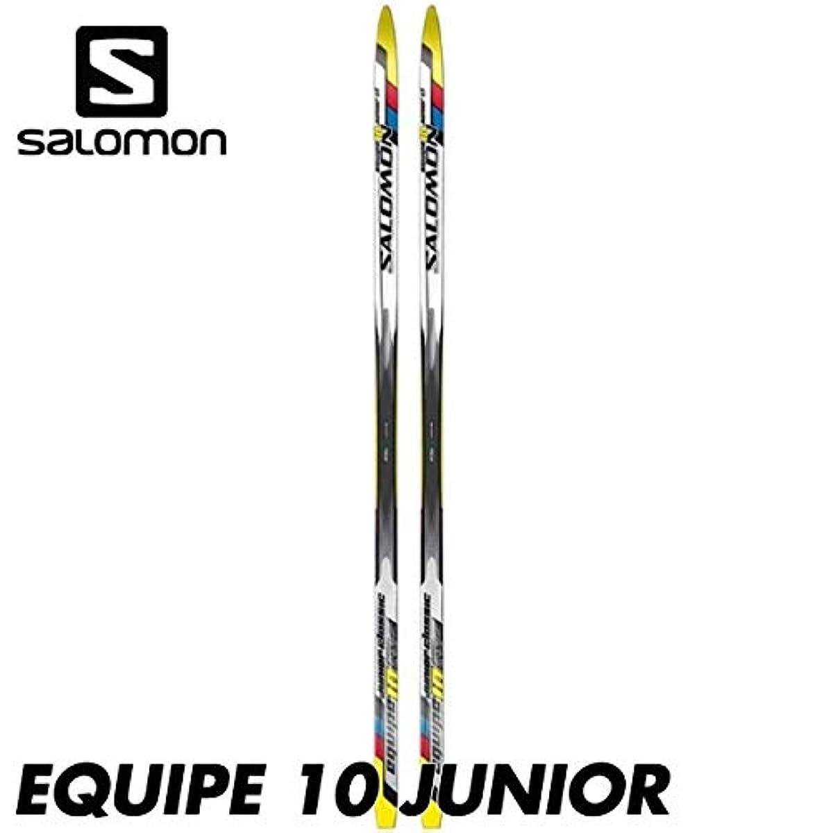 [해외] 살로몬 에킷푸10쥬니어 SALOMON EQUIPE 10 JUNIOR CLASSIC 어린이용 크로스ROSS 포함 컨트리 스키 판 만