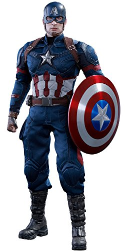 ムービー・マスターピース シビル・ウォー/キャプテン・アメリカ キャプテン・アメリカ 1/6スケール プラスチック製 可動フィギュア
