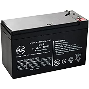 Razor E300 12V 9Ah Scooter Battery - This is an AJC Brand Replacement