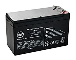 Best Power Axxium 1500 Rackmount 12V 9Ah UPS Battery - This is an AJC Brand® Replacement