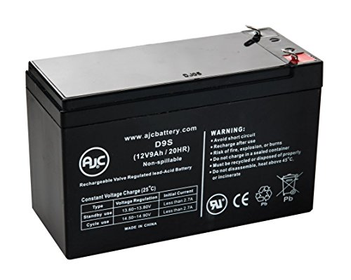 Unisys Li 1050 Rackmount 12V 9Ah Ups Battery   This Is An Ajc Brand Replacement