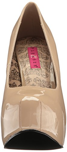 Scarpe Off 06w Cream con Pat Pleaser Pink white Teeze Label Donna Plateau Aw8t18Iqvx