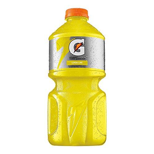 Gatorade Thirst Quencher, Lemon Lime, 64 Ounce (12 Bottle Gatorade Oz Water)