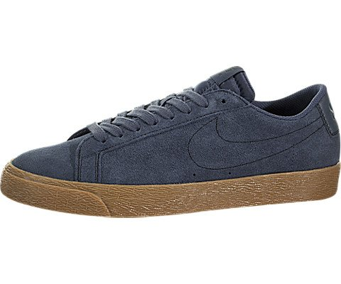 Nike Men's Sb Zoom Blazer Low Thunder Blue/Ankle-High Suede Skateboarding Shoe - 10M by Nike (Image #5)