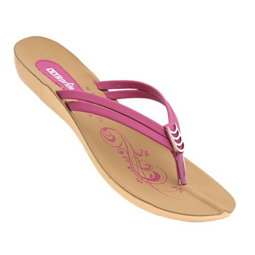 651109dd0636a VKC 0189 Ladies Pink Sandals: Buy Online at Low Prices in India ...