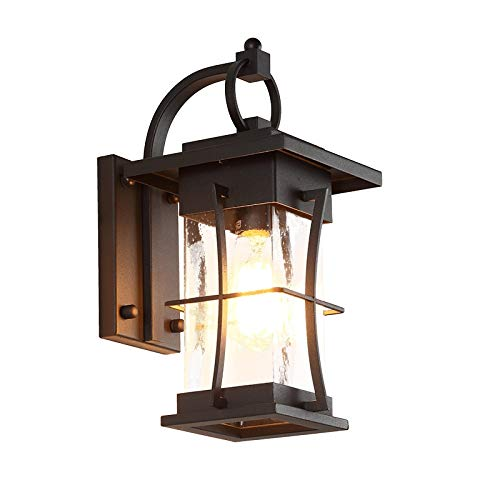 New America National Outdoor Wall Lamp Porch Waterproof Edison Lighting Retro Industrial Engineering Wall Lamp