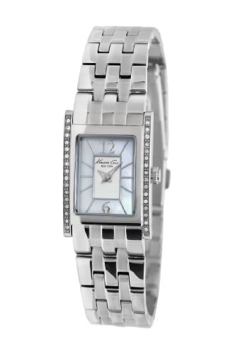 Kenneth Cole New York Women's 'Classic' Quartz Stainless Steel Dress Watch, Color:Silver-Toned (Model: KC4874)
