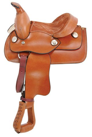 King Series Miniature Smooth Western Saddle
