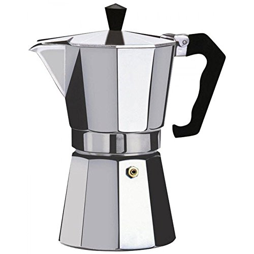 Euro-Home - CaffeXspress 6 Cup Aluminum Espresso Coffee Maker - Barista quality espresso maker. by Euro-Home (Image #2)