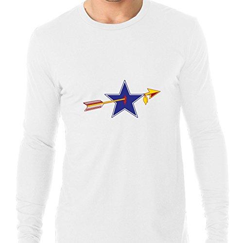 Classic RedSkin Vs Cowboy Rivalry Game Men's Long Sleeve T-Shirt -