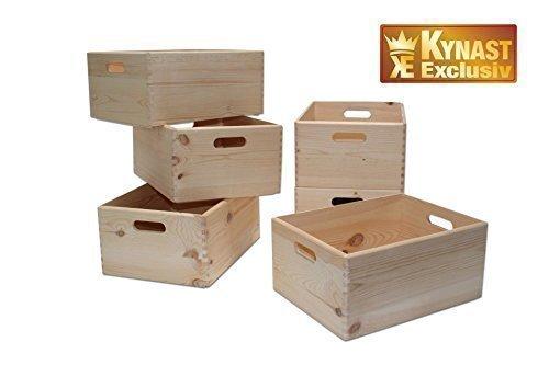 Holzkiste / Allzweckkiste / Stapelbox natur 40x30x19cm