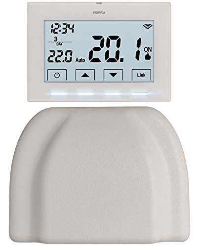 Kit Perry Cronotermostato Wireless Per Caldaia Con Smartbox