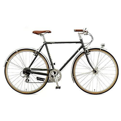 ARAYA(アラヤ) クロスバイク SWALLOW Promenade Gents (PRM) スチールグレー 450mm   B07JD6P1P2