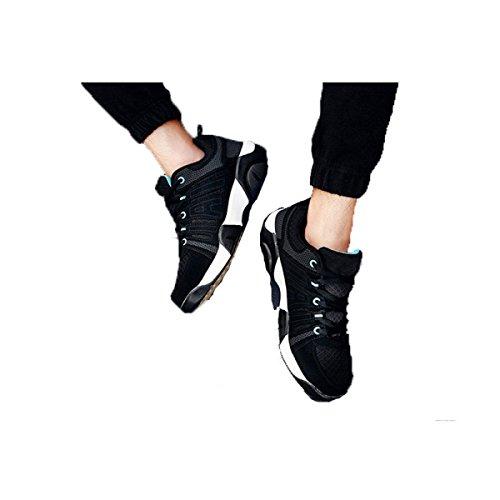 Zapatos Para Caminar Al Aire Libre De Los Hombres De Malla Transpirable De Varios Tamaños Multicolor BlackAndWhite